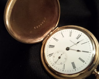 WALTHAM SEASIDE HUNTER Case, American Waltham Watch Co.