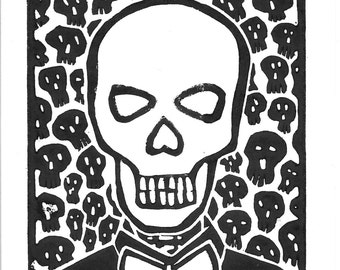 Fu * king Skull O1 by Rico