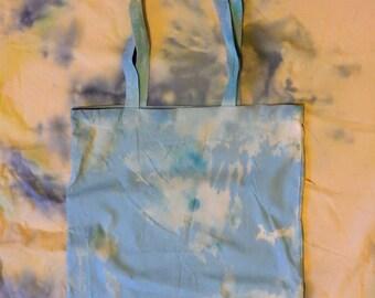 Acid Blue Canvas Bag