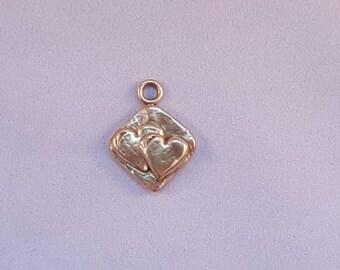 Bronze Hearts Pendant