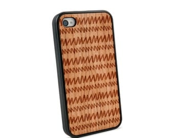 Radiowaves Wooden iPhone 4/4S Case for iPhone 4/4S Case