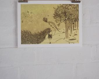 Storm - Giclee Fine Art Print