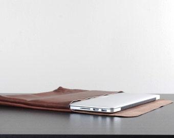 "13"" Leather Laptop Sleeve"