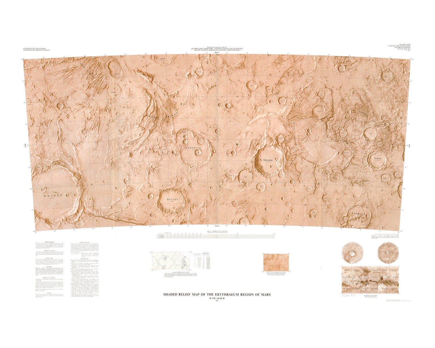 printable map of planet mars - photo #15