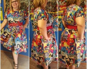 Woman's Superhero Dress