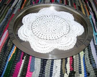 Crocheted Doilies, circular