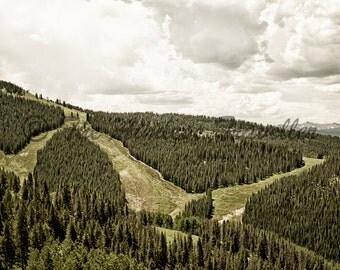 Ski Runs of Vail, Colorado
