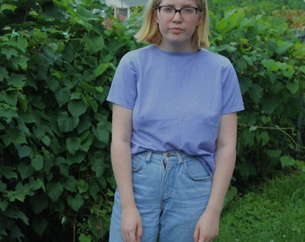 Simple Lavender Tee