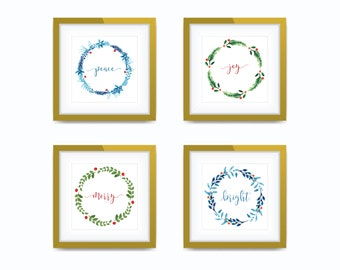 8x8 Holiday Collection - Art Print