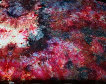 Hand Dyed Fabric Piece # 86
