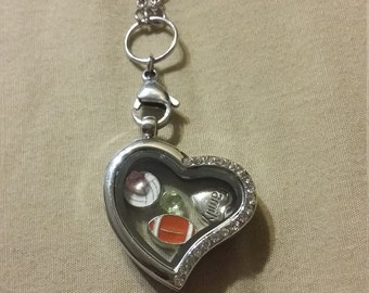 Customized Floating charm locket
