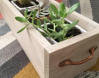 Rustic Wooden Planter Box
