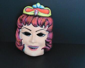 1960's Halloween Princess Mask
