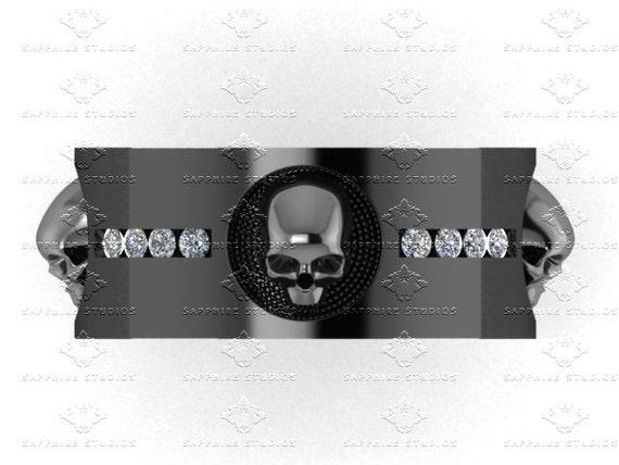 like this item - Mens Skull Wedding Rings
