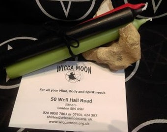 Demdike's Spell Casting Candles:- Free Postage and Packing in UK