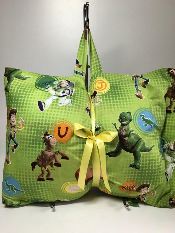 Items similar to Toy Story Kids Children New Travel Pillow Blanket Throw Set on Etsy