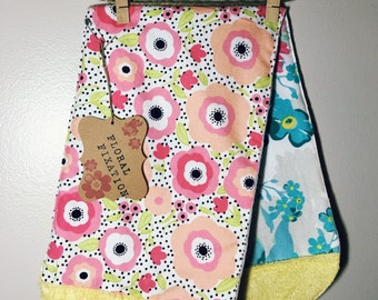 Super Soft/Reversible Burp Cloth