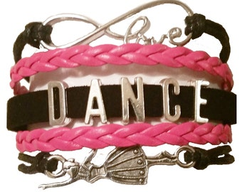Dance Infinity Dance wear Jewelry - Dance Infinity Bracelet - Dance Bracelet ~ Dance Jewelry for girls by GeauxDat