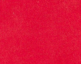 1 Flannel Cotton Fat Quarter Red