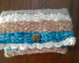 Hand woven wallet