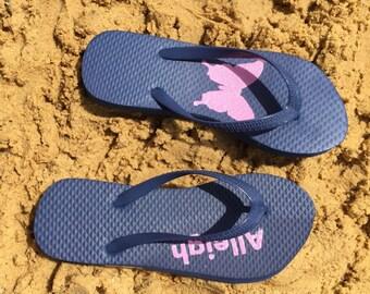 Personalized Flip Flops (International)