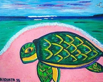 Bahamian Green Turtle