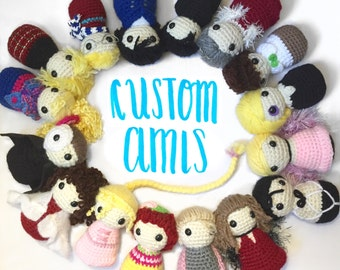 Commission a crocheted doll!