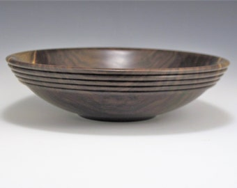 Beaded Black Walnut Bowl