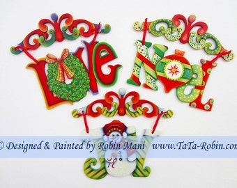 316 Scroll-Top Ornaments Decorative Painting Pattern