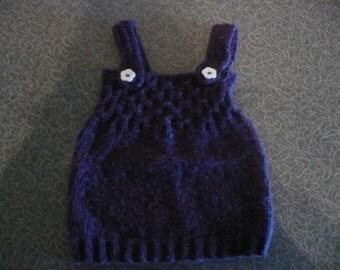 Purple Baby Jumper Dress