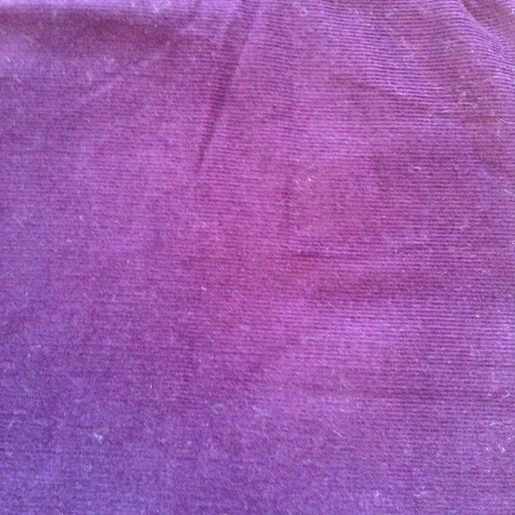 Purple or grape baby corduroy purple fabric baby by abcfabrics for Purple baby fabric
