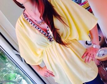 Original yellow tunic