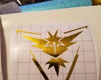 Team Instinct Metallic Decal
