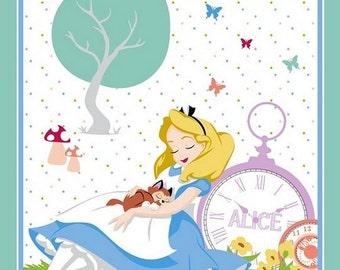 Alice In Wonderland Handmade baby/toddler blanket ALMOST GONE!!!