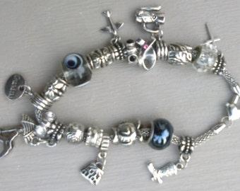 European Style Charm Bracelet (Customize to Order)