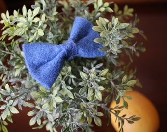 "Baby Bow - 1.5x2.5"" Cornflower Blue"
