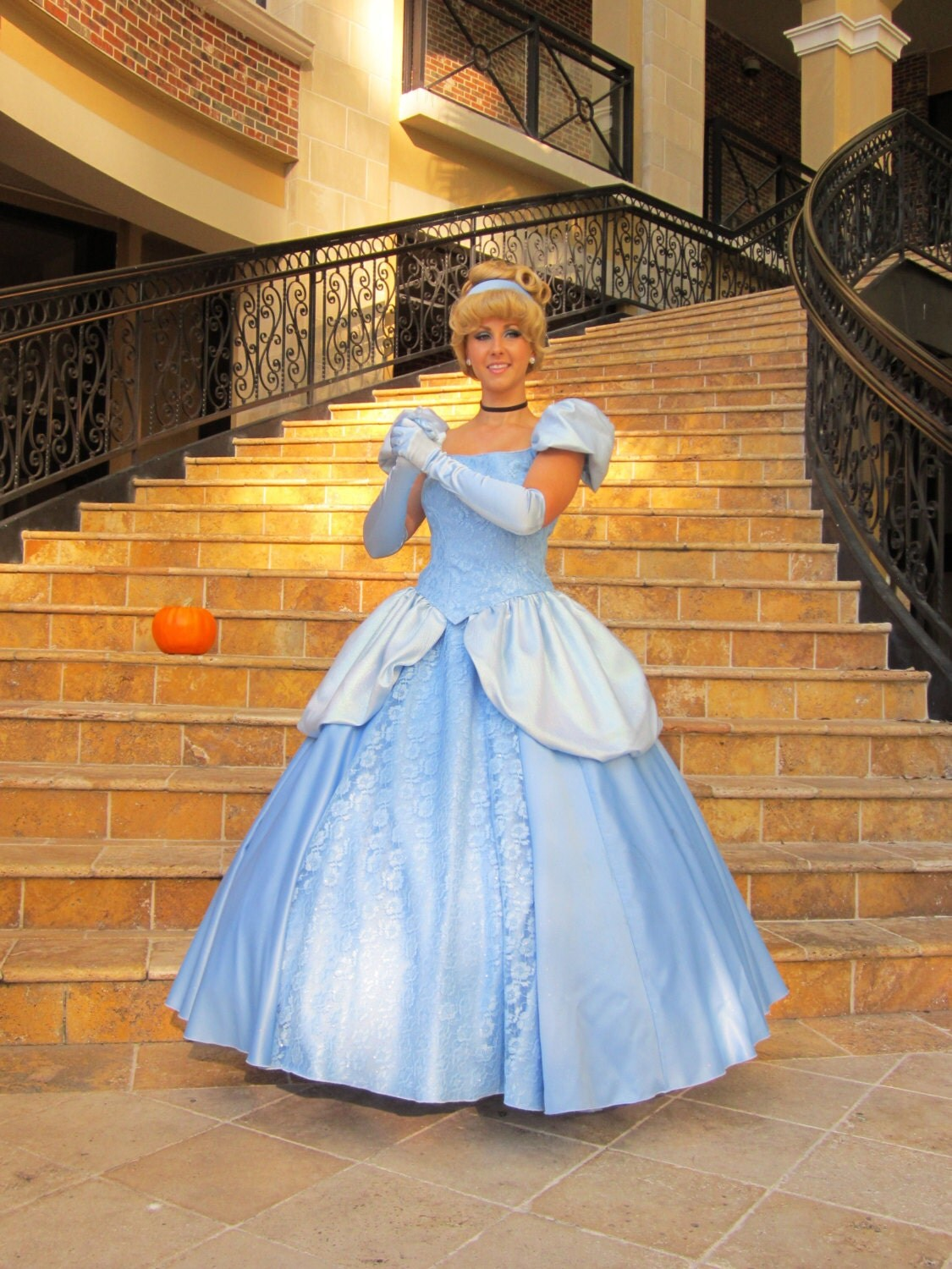 Cinderella Adult Costume Cosplay Halloween