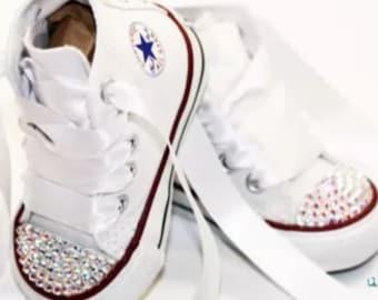 Blinged baby sneakers