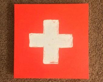 Ed Sheeran Album Cover Painting - + (Plus)
