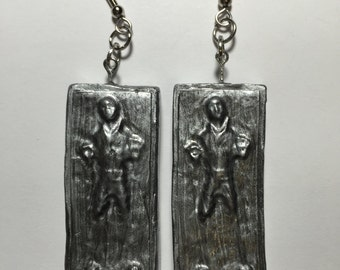 Star Wars Han Solo in carbonite Earrings