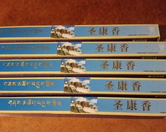 5x Tibetan Medical College Holy Land Incense