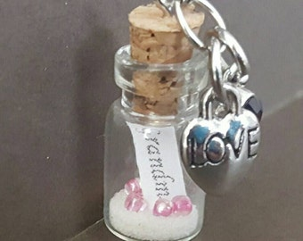Grandma Message in a bottle Necklace