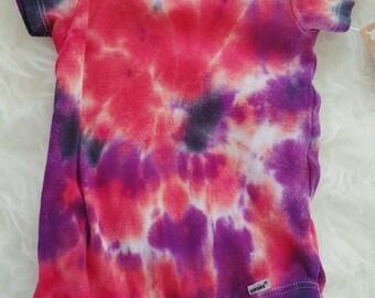 Swirl Tie Dye Onesie