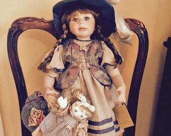 Kingstate Prestige Collection Limited Edition Porcelain Doll-Jena
