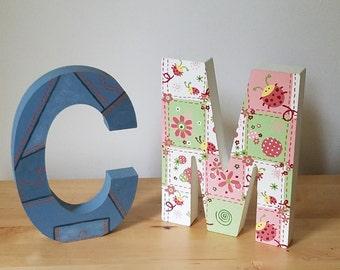 Custom Alphabet Letter
