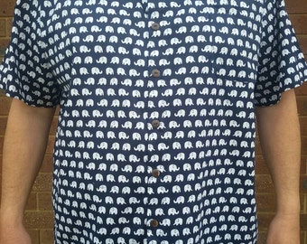 6XL Elephant casual shirt