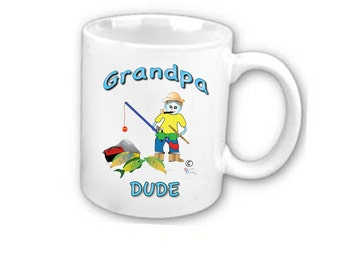 Grandpa mugs - AVAILABLE in at least  25 Different LANGUAGES