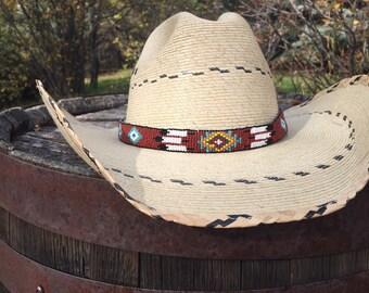 Native American Hat Band Cowboy Hat Band