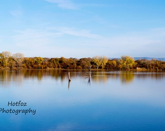 Reflection in the Water, Soccoro, NM Digital Download