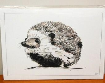 A4 Hedgehog Print